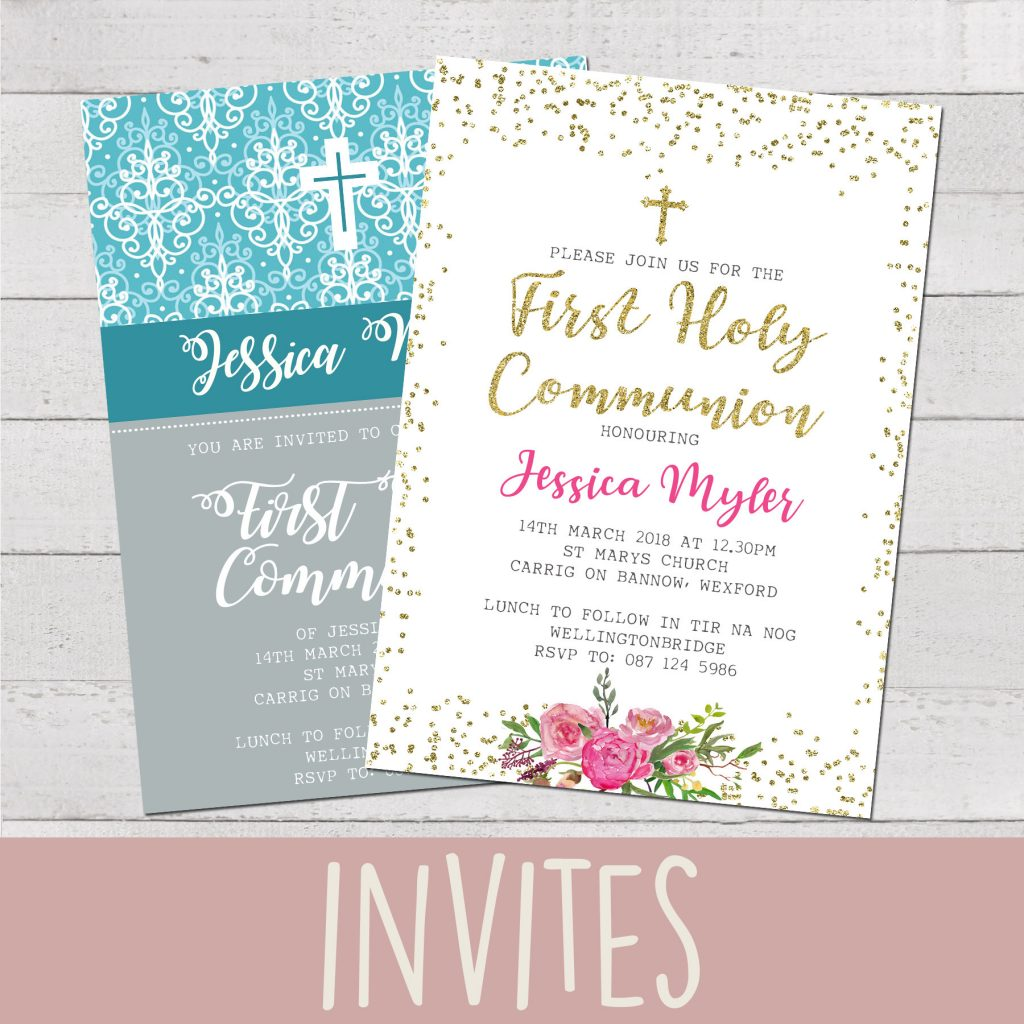 COMMUNION INVITES